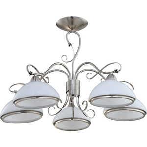 Люстра IDLamp 808/5PF-Whitechrome idlamp светильник потолочный 818 8pf whitechrome