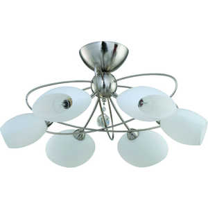 Люстра IDLamp 818/6PF-Whitechrome idlamp светильник потолочный 818 6pf whitechrome