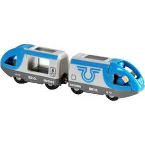 Поезд Brio 2 элемента (с машинистом) 33506 brio локомотив и грузовые вагоны с животными