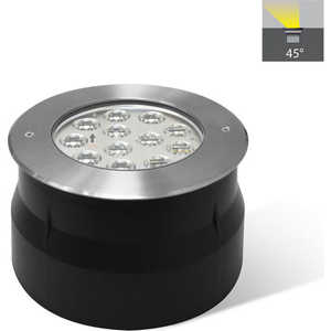 Грунтово-тротуарный светильник Estares C2V1205 DC24V 18W RGB 3in1 IP67 асимметричная линза