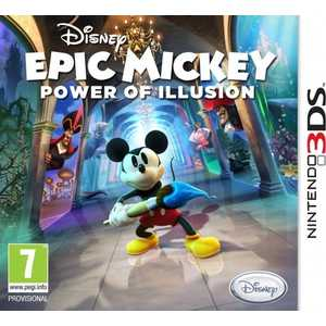 Игра для 3DS  Epic Mickey Power of Illusion (3DS, английская версия)
