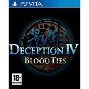 Игра для PS Vita  Deception IV: Blood Ties (PS Vita, английская версия)