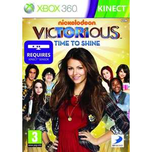 Игра для Xbox 360  Kinect Victorious Time to Shine (Xbox 360, английская версия)