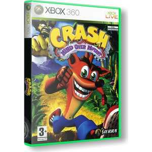 Игра для Xbox 360  Crash Bandicoot: Mind over Mutant (Xbox 360, английская версия)