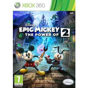 Игра для Xbox 360  Epic Mickey 2 The Power of Two (Xbox 360, английская версия)