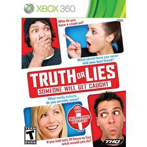 Игра для Xbox 360  Truth or Lies (Microphone required) (Xbox 360, английская версия)