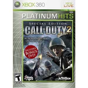 Игра для Xbox 360  Call of Duty 2 Special Edition (Xbox 360, английская версия)
