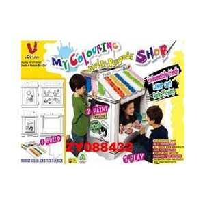 Домик U Do Future Магазин игровой-конструктор (картонный) картонный zoo квартет ух какая такса