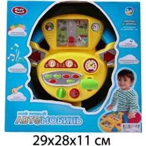 Play Smart Руль Мой первый автомобиль 7391 игрушка электронная развивающая мой первый ноутбук