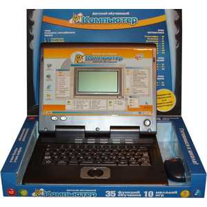 Joy Toy Компьютер 7004 азбукварик книга компьютер учим формы и цвета с котом леопольдом