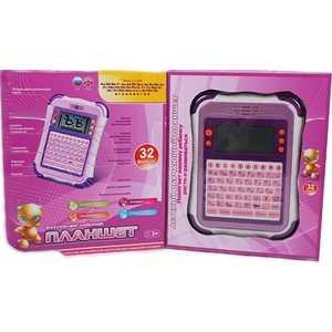 Joy Toy Планшет русско - английский, 32 функции, розовый 7176 планшет в краснокамске