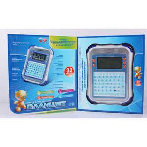 Joy Toy Планшет русско - английский, 32 функции, синий 7175 планшет в саяногорске