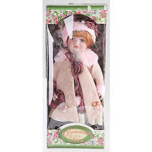 Bondibon Кукла керамическая 40см Country stile (C705 - 16X)