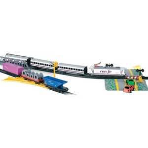 Железная дорога Pequetren металлическая Pequetren (5,5м,эллипс),1 лок - в,3 пас.ваг,3 груз.ваг,мост,переезд 905