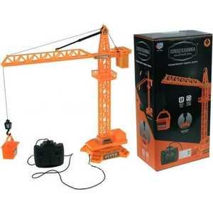 Joy Toy Подъемный кран Технопарк на радиоуправлении 9341 железные дороги и паровозики big motors подъемный кран