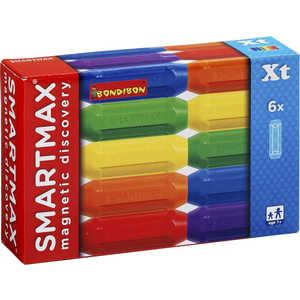 Bondibon Магнитный конструктор SmartMax Дополнительный (Xt) набор: 6 коротких палочек 102