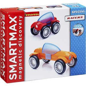 Bondibon Магнитный конструктор SmartMax Специальный (Special) набор: Гонщики 201