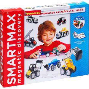 цены Bondibon Магнитный конструктор SmartMax Специальный (Special) набор: Мощная техника 303
