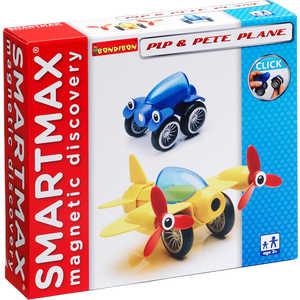 Bondibon Магнитный конструктор SmartMax Специальный (Special) набор: Пип и самолётик Пит 206