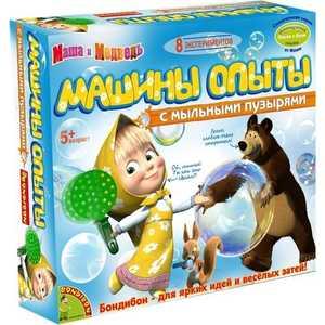 Опыты Маша и Медведь французские Науки с Буки серия от Маши, Машины опыты с мыльными пузырями