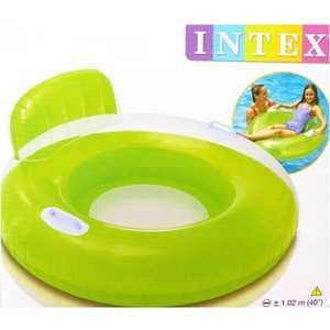 Intex Круг - кресло с держателями 102см от 8 лет