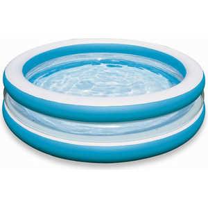 Бассейн Intex с прозрачным кольцом 203*51см от 6 лет