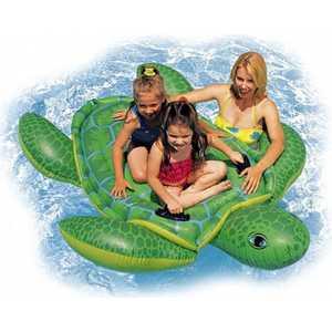 Черепаха Intex надувная 191*170см от 3лет лодка intex challenger k1 68305