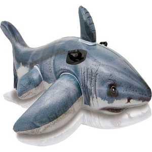 Белая Акула Intex 173х107см от 3 лет лодка intex challenger k1 68305
