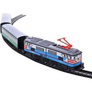 Железная дорога Pequetren металлическая (3,4 м, эллипс), 1 локомотив, 2 вагона, со станцией 302