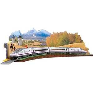 Железная дорога Pequetren (6,6 м, восьмерка),1 локомотив, 3 вагона, светофор 710