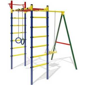 Детский спортивный комплекс Маугли 14-02 детский спортивный комплекс маугли 01 02 зеленый желтый