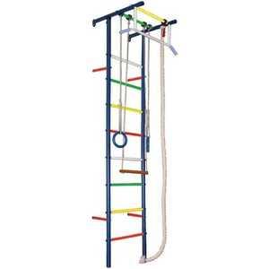 Детский спортивный комплекс Вертикаль Юнга 3.1 М (ПВХ-покрытие) турник широкий хват