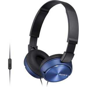 Наушники Sony MDR-ZX310AP blue наушник sony mdr zx310ap черный