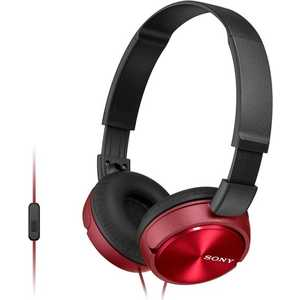 Наушники Sony MDR-ZX310AP red sony mdr zx310ap red