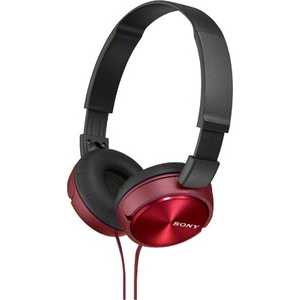 Наушники Sony MDR-ZX310, red