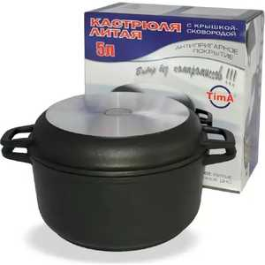 Кастрюля с крышкой-сковородой Биол 5 л К502П кастрюля с крышкой сковородой биол 6 л 0206