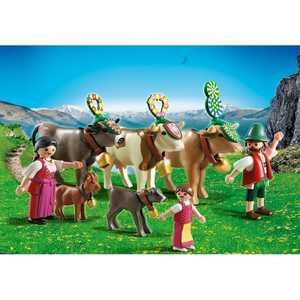 Конструктор Playmobil В горах: Альпийский фестиваль 5425pm playmobil® в поисках приключений семья рысей с кинооператором playmobil