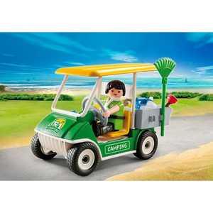 Playmobil Каникулы: Машинка для обслуживания кемпинга 5437pm playmobil веселые каникулы