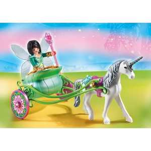 Playmobil Карета с Единорогом и фея бабочка 5446pm