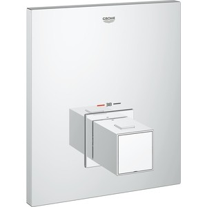 Термостат для ванны Grohe Grohtherm Cube центральный накладная панель (19961000) цена и фото