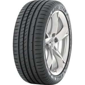 Летние шины GoodYear 255/35 R20 97Y Eagle F1 Asymmetric 2 color block striped button embellished asymmetric top