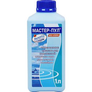 Средство для чистки бассейнов Маркопул Кэмиклс М20 Мастер-пул 1 л 4 в 1