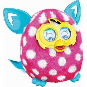 Hasbro Игрушка Furby Boom (Ферби) Солнечная волна Розовый в горошек A4343121 / A 4332