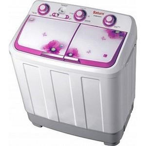 Стиральная машина Saturn ST-WM1634 R Pink стиральная машина siemens wm 12n140oe