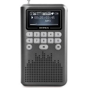 Радиоприемник Supra PAS-3907 grey