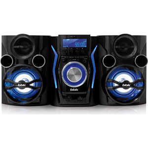 Музыкальный центр BBK AMS110BT black/dark blue bbk bkt 108 ru