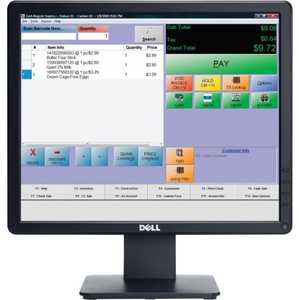 Монитор Dell E1715S Black монитор 19 dell p1914s black 210 agip