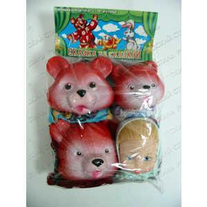 Русский стиль Кукольный театр Три медведя 11064 три медведя три медведя кофточка happy animals молочная с мишкой