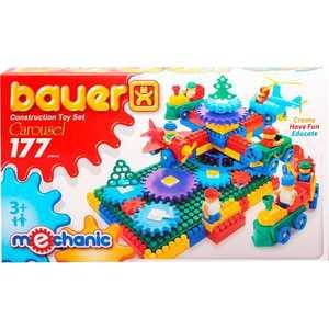 Бауер Конструктор Карусель 177 элементов 186