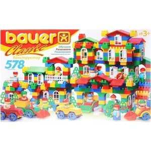 Bauer Конструктор Classik 578 элементов 201 конструкторы bauer стройка 50 элементов